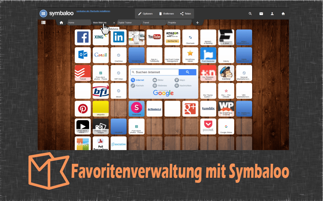 Video: Favoriten Verwalten mit Symbaloo